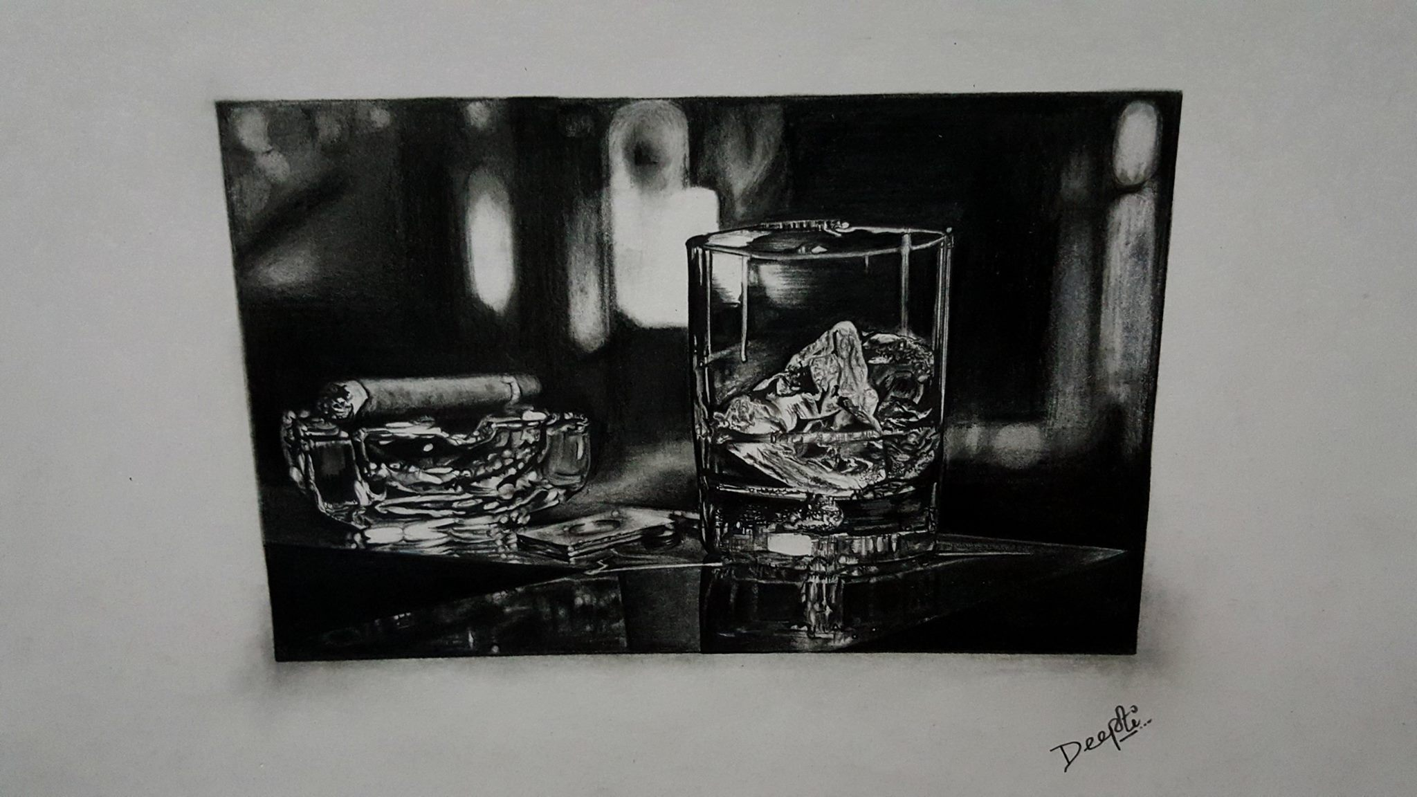 Lonely cheers, 29 X 742cm